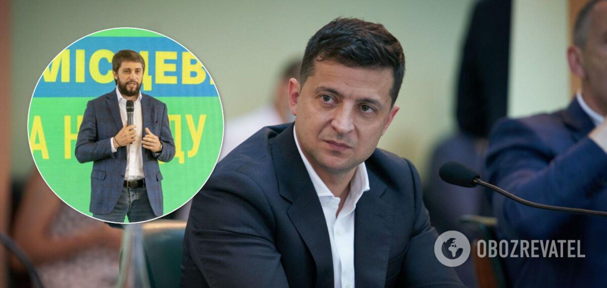Зеленського звинуватили в агітації 'слуги'-кандидата в мери Кривого Рогу