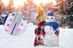 Погода в грудні в Україні
