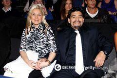 Диего Марадона и Вероника Охедо