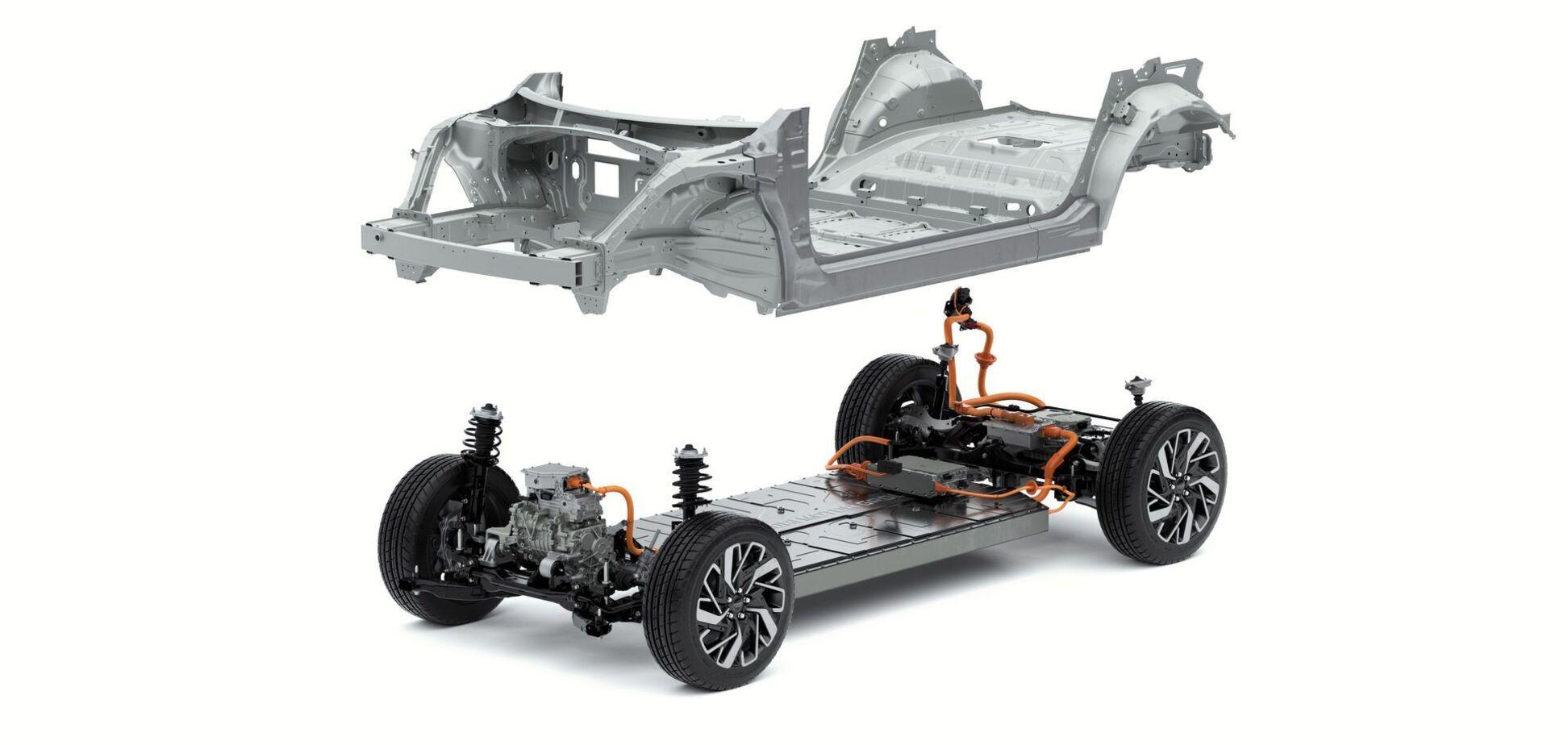Hyundai представил новую электрическую платформу E-GMP