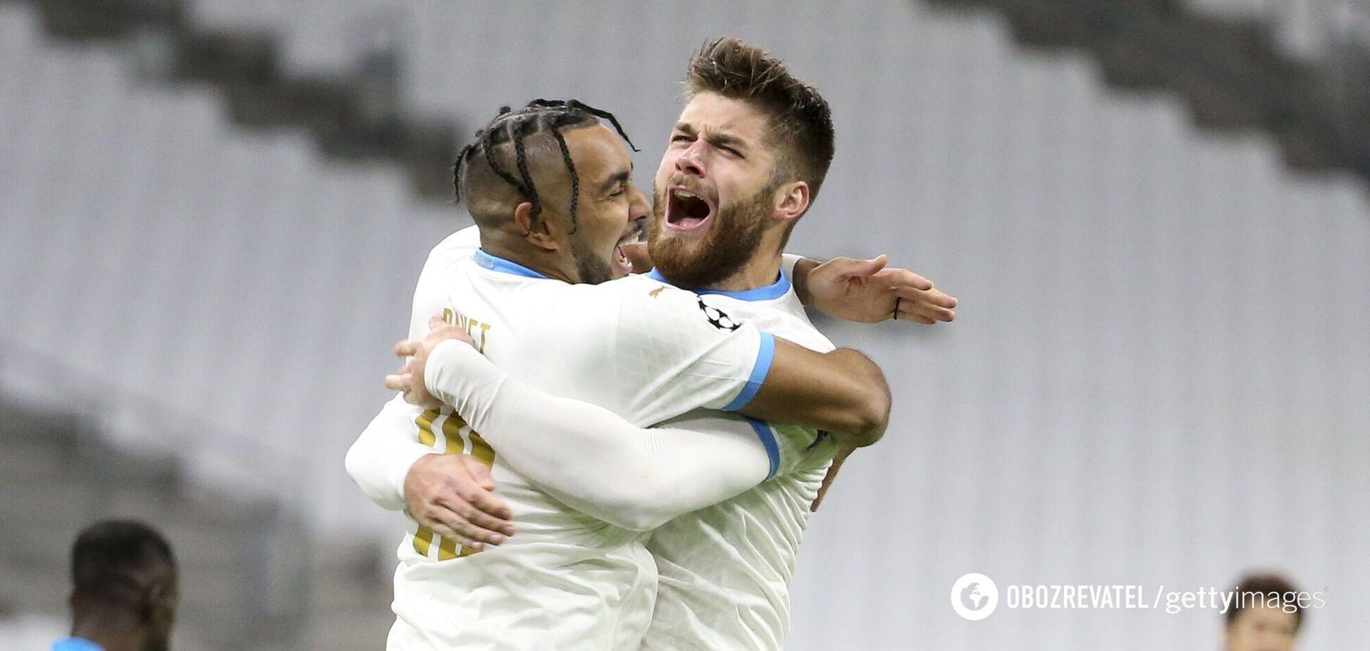 'Марсель' переміг 'Олімпіакос' з рахунком 2:1