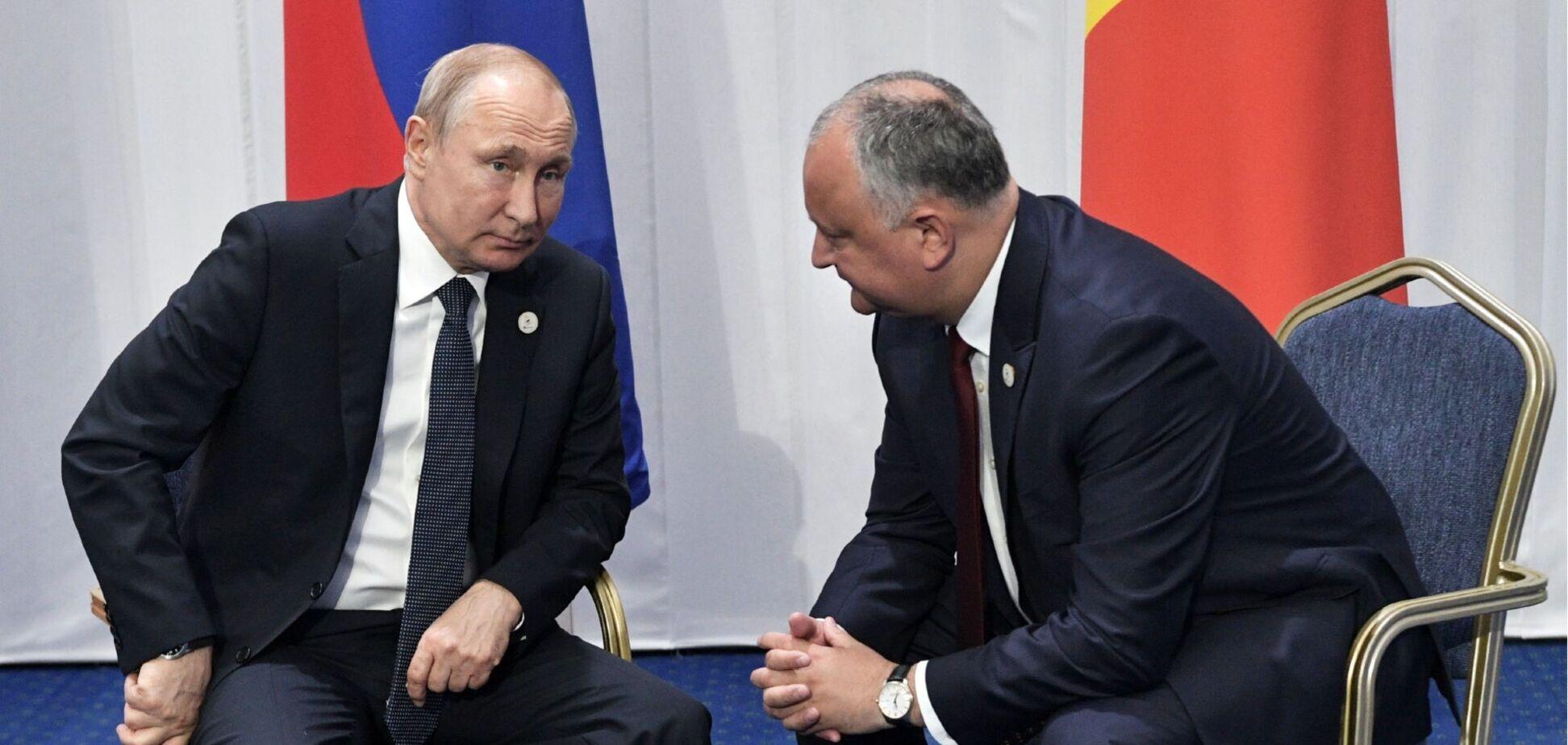 Москва так просто выпускать Молдову из своих 'объятий' не собирается