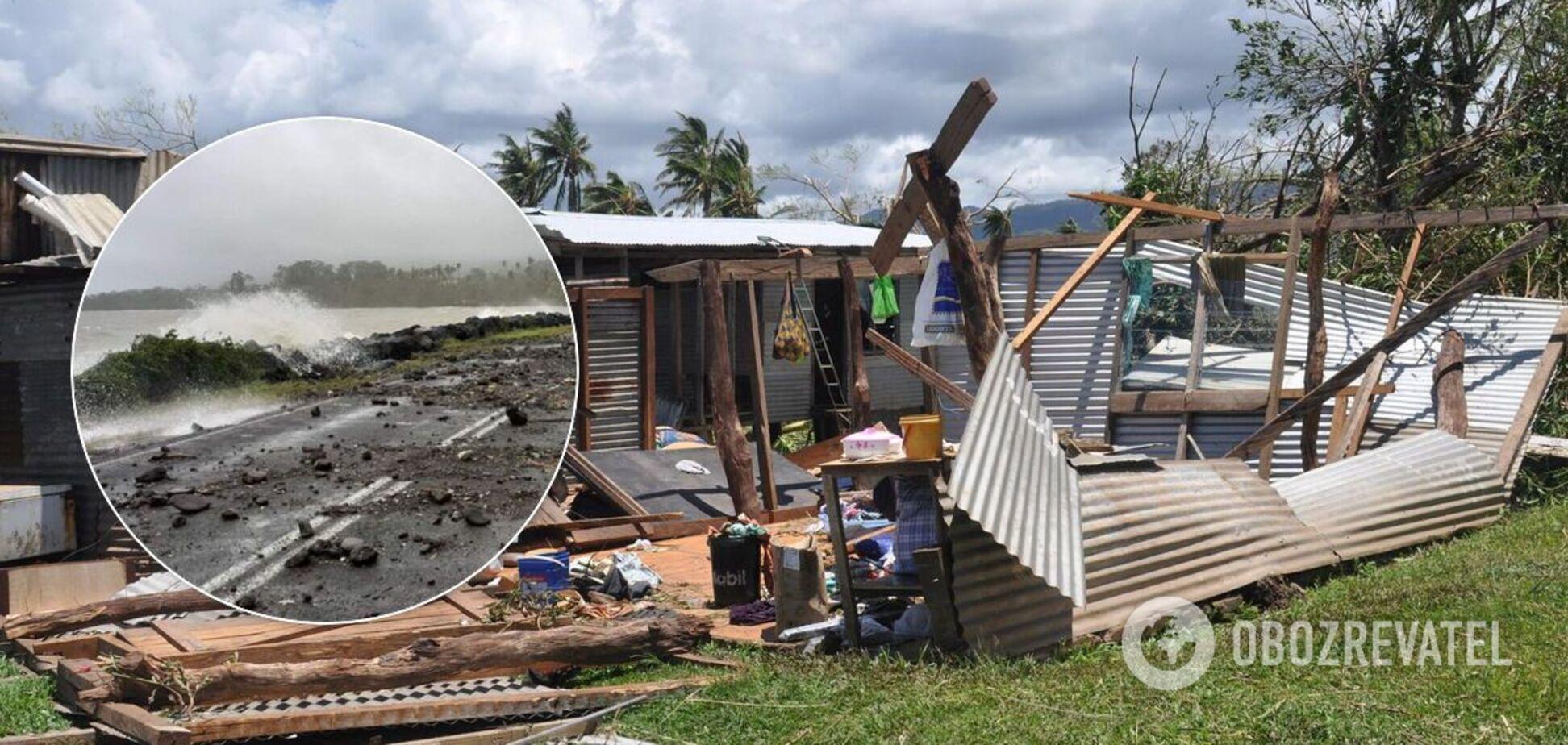Циклон Яса вирує на Фіджі