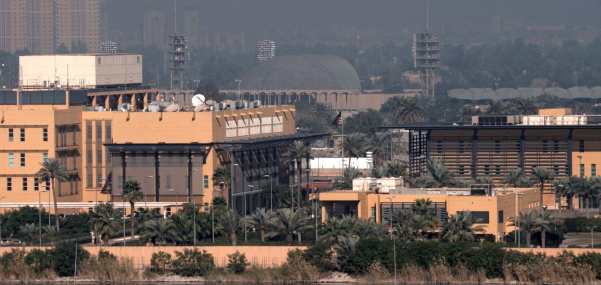 'Зеленую зону' Багдада обстреляли ракеты типа 'Катюша'