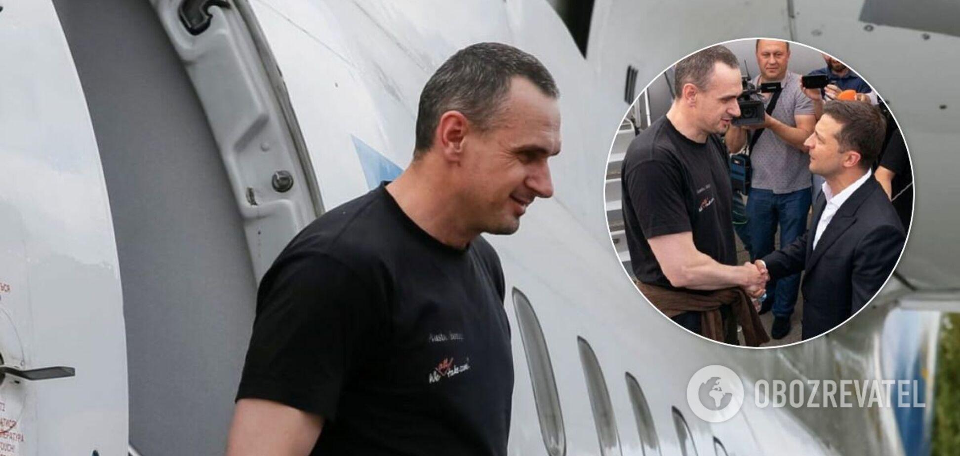 Сенцов рассказал, почему его освободили из плена в России