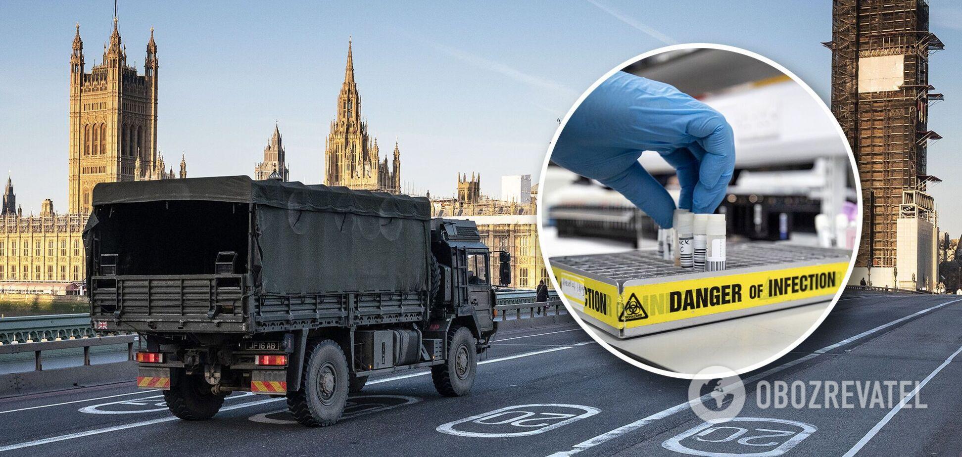 Із Великобританії не випускають вантажівки