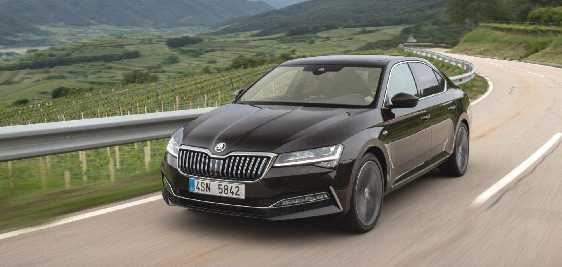 Skoda показала, які автомобілі вона зараз виробляє в Україні