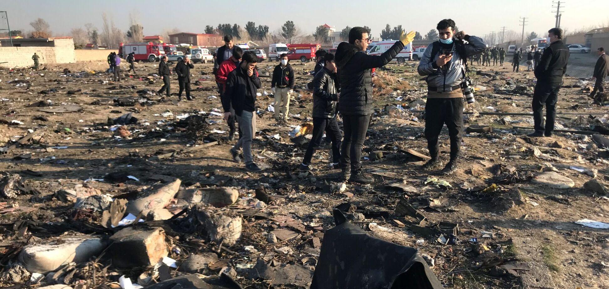 Катастрофа МАУ в Иране