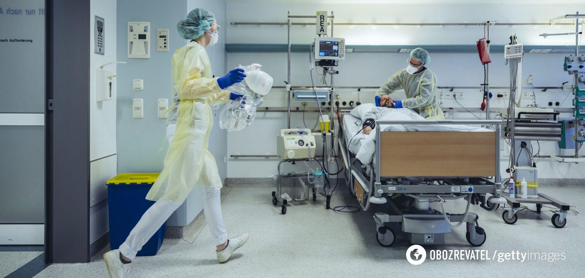 В Днепре вылечили от COVID-19 медсестру в тяжелом состоянии