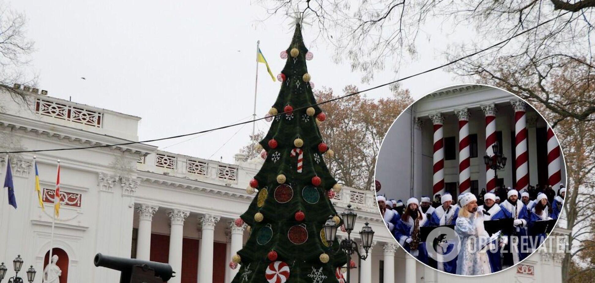 Ялинка в Одесі