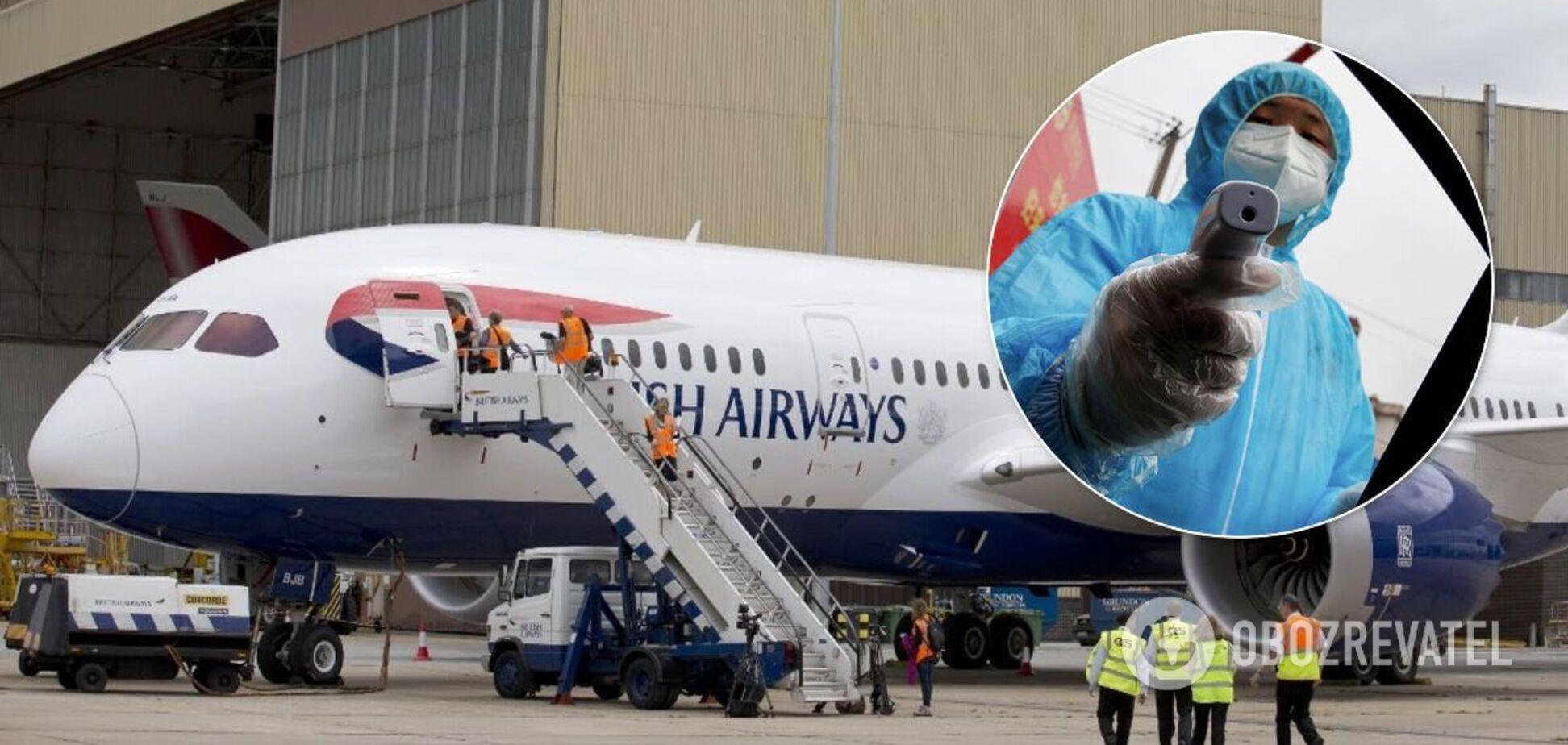Украина готовится закрыть авиасообщение с Великобританией – ОП