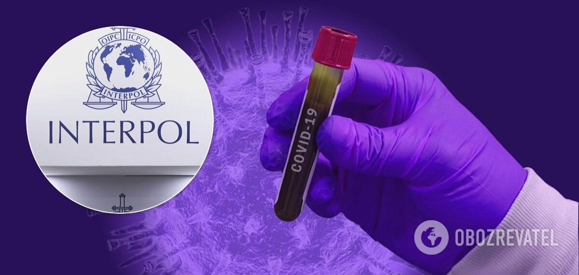 Глава Інтерполу передбачив зростання злочинності через вакцину