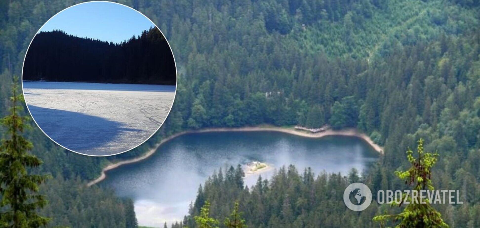 Синевир – наибольшее озеро Украинских Карпат