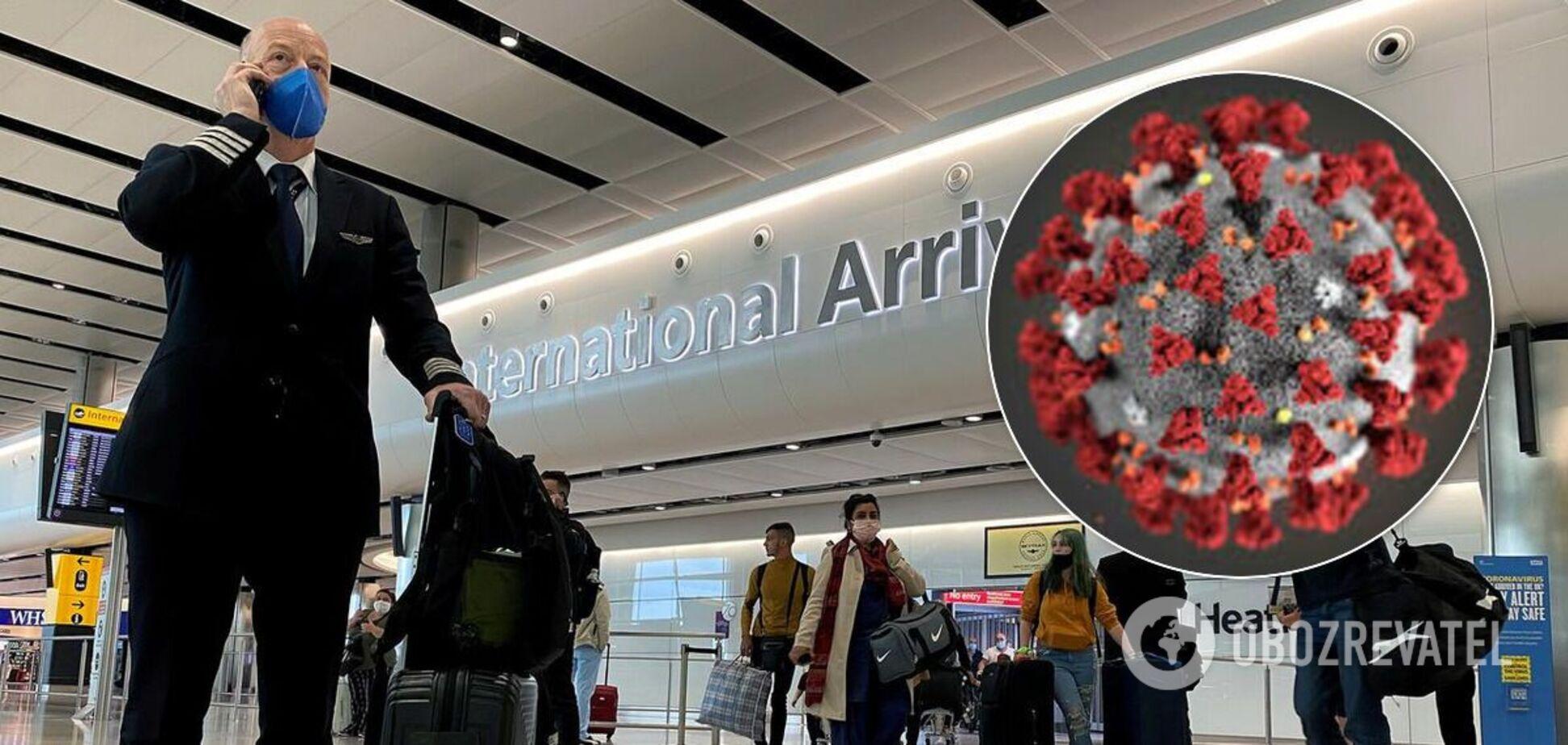 Более 20 стран закрыли авиаперелеты с Британией из-за мутировавшего коронавируса