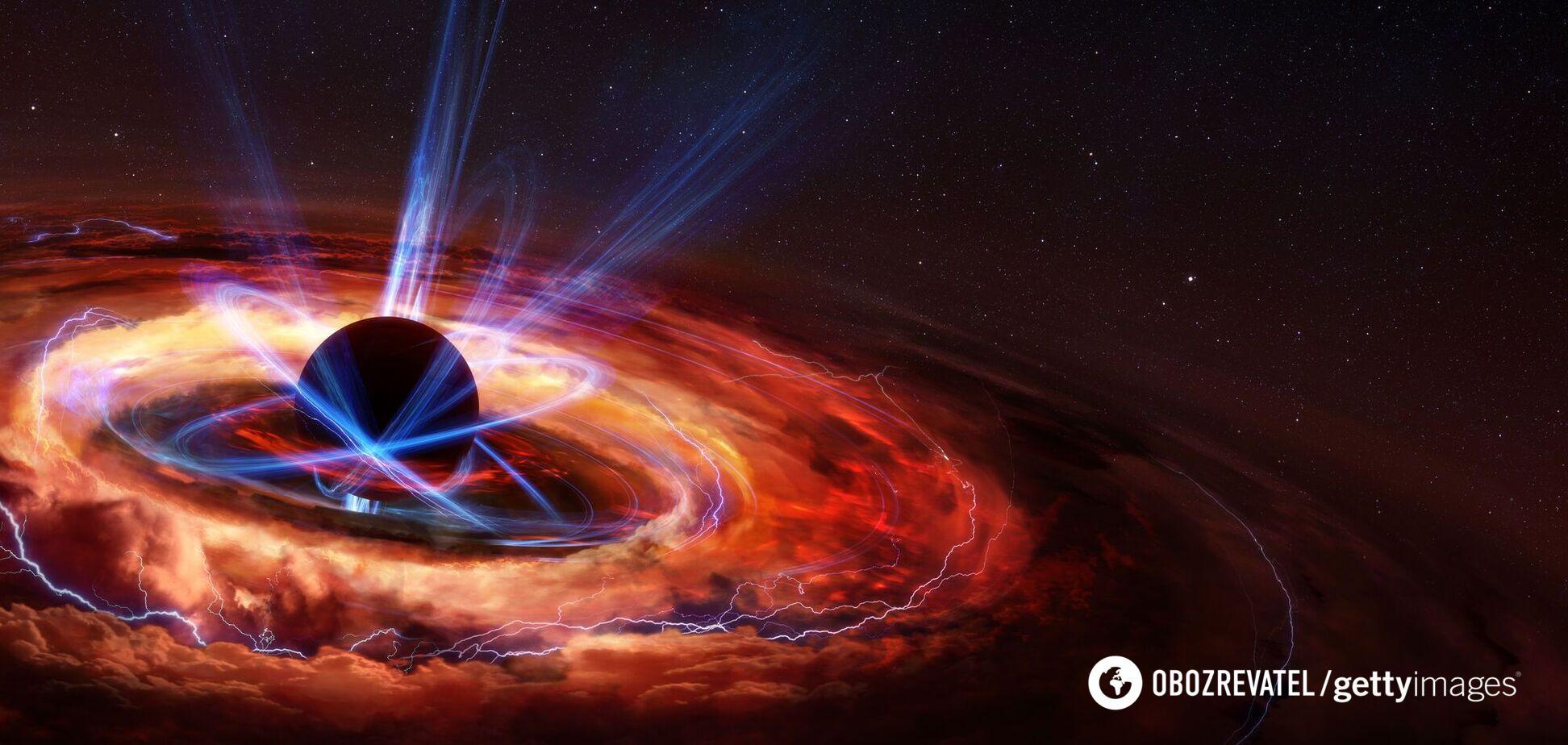 Астрономи заявили про таємниче зникнення величезної чорної діри