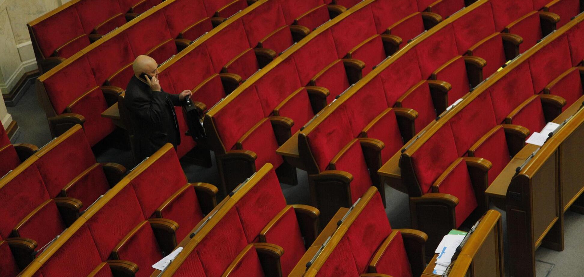 20 депутатів не були на жодному засіданні Ради в грудні