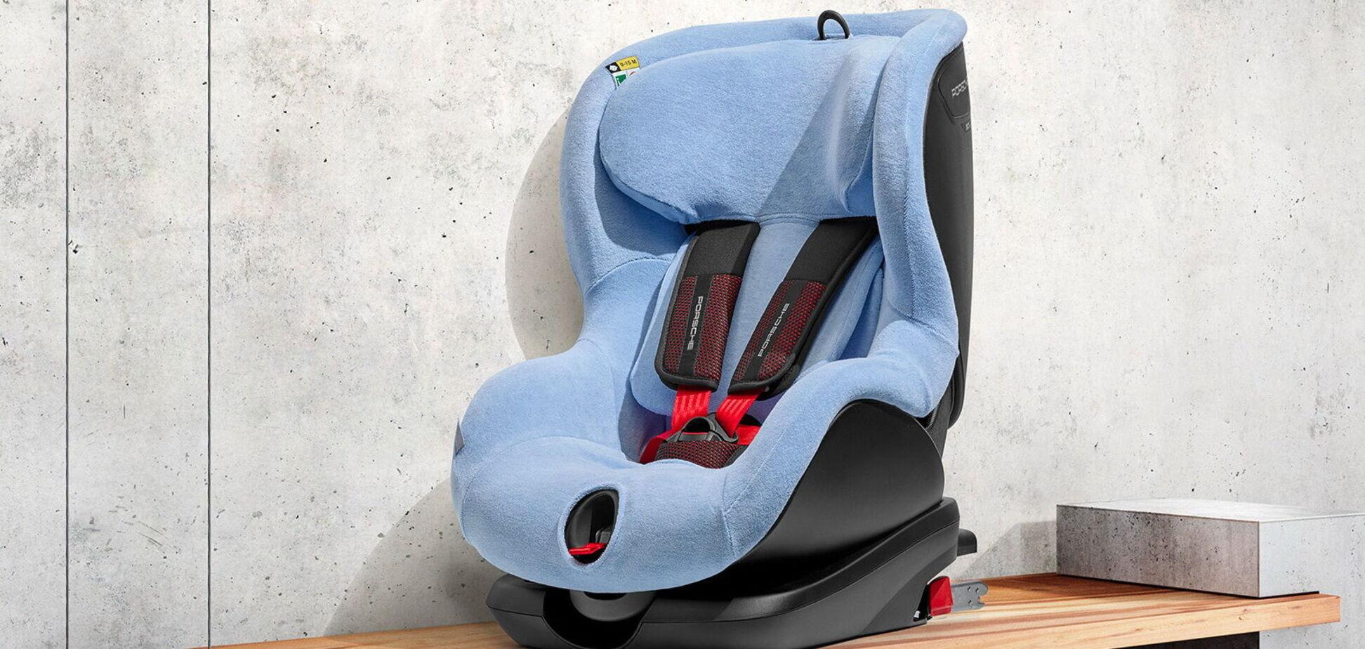 Компания Porsche представила детские кресла нового поколения