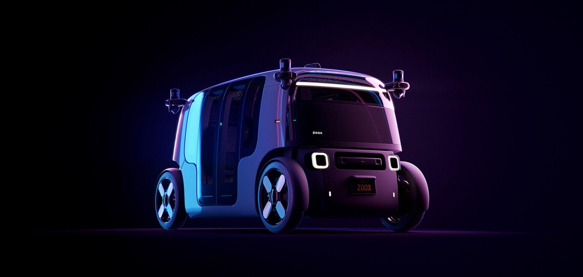 Amazon презентовал автономное такси Zoox Robotaxi
