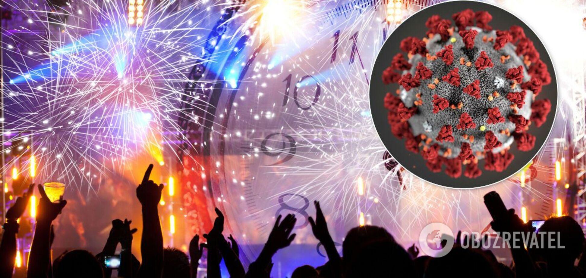 Инфекционист предупредил об опасности массовых гуляний на Новый год