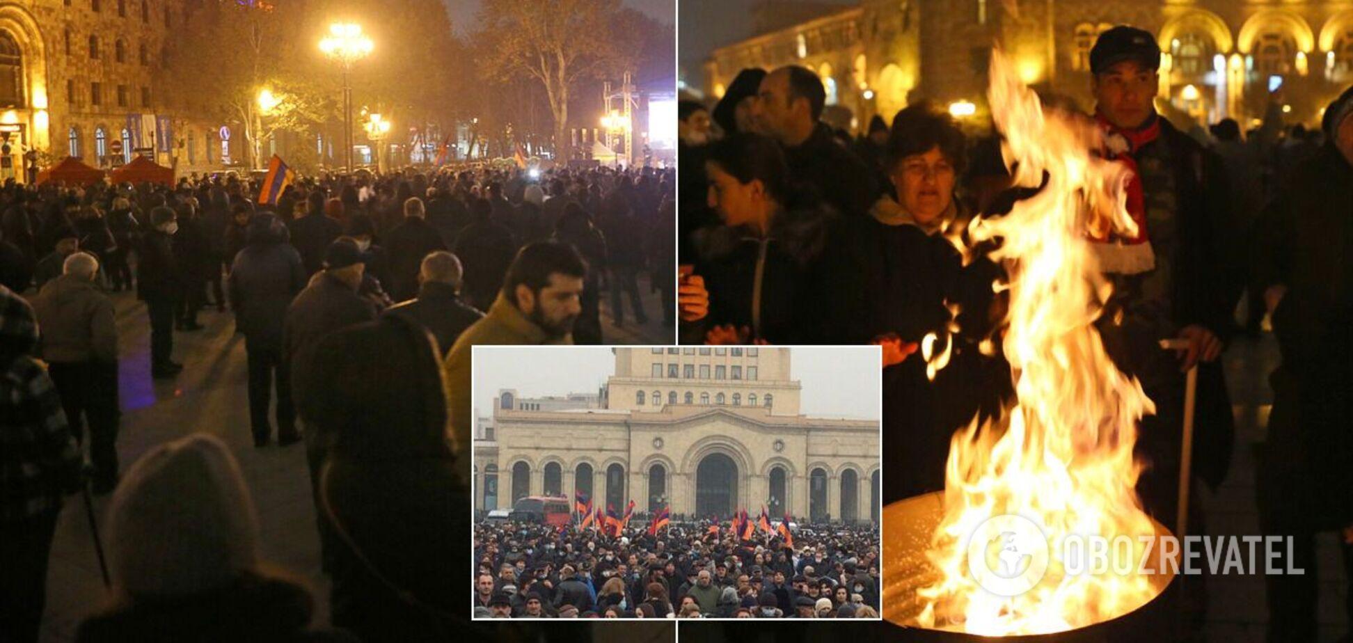 Протест і страйк в Єревані