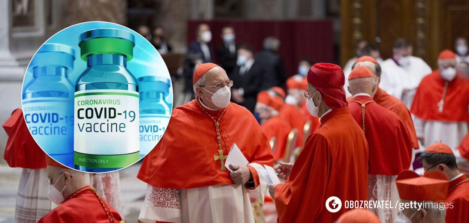 Ватикан дозволив використовувати вакцини проти COVID-19 із клітинами абортованих плодів