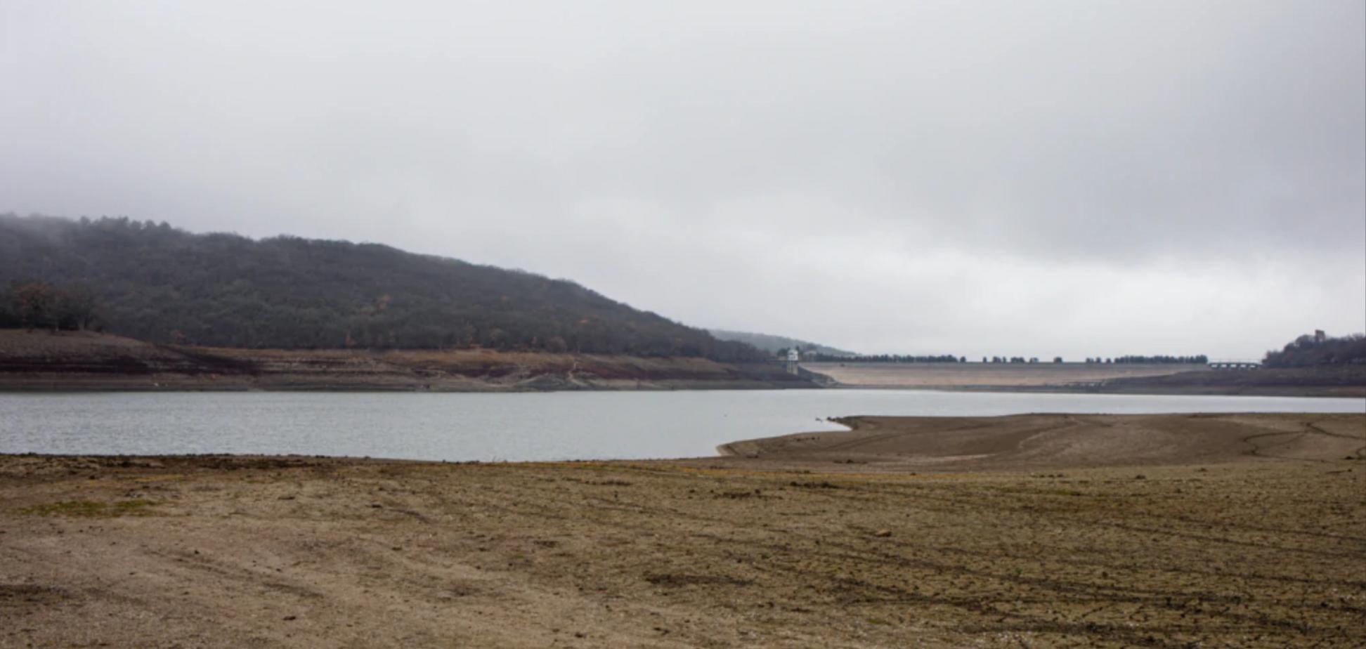 Партизанське водосховище у Криму