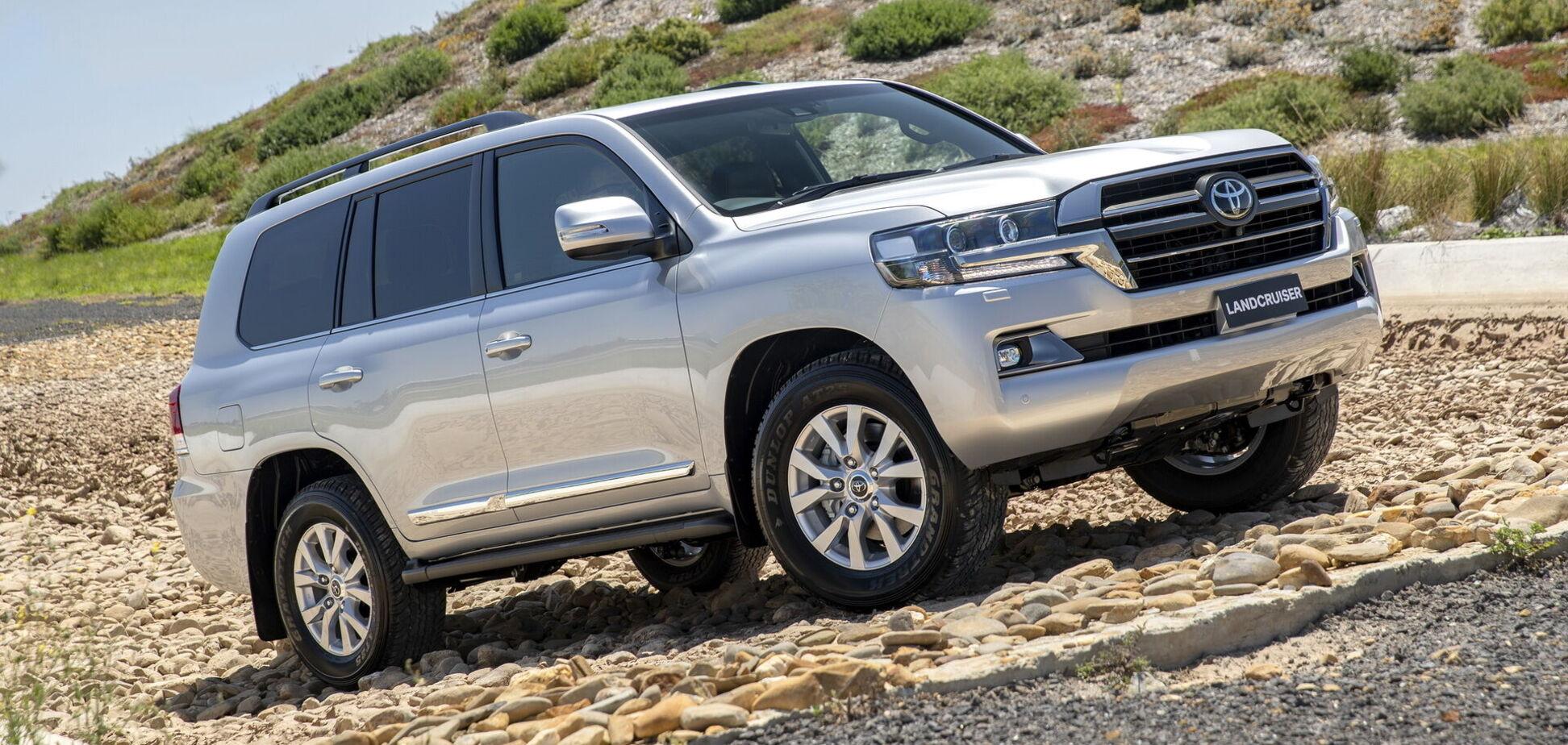 Toyota представила новую версию своего флагмана Land Cruiser