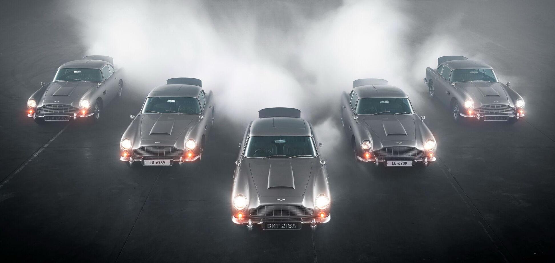 Перші 'шпигунські' Aston Martin готові до зустрічі зі своїми власниками