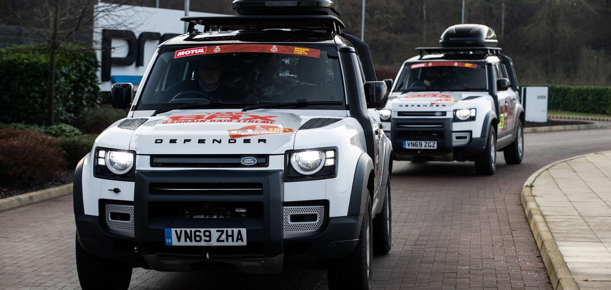 Позашляховики Land Rover відправлять на 'Дакар'