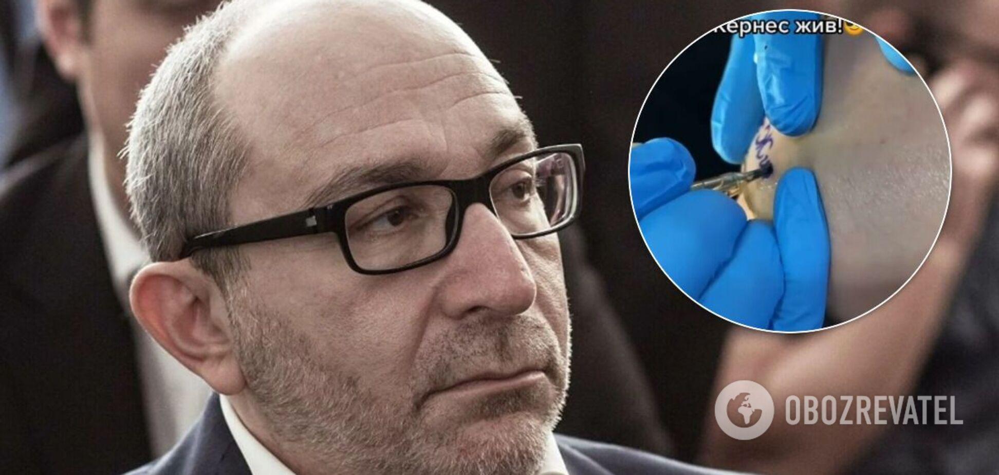 Харьковчанин посвятил Кернесу татуировку