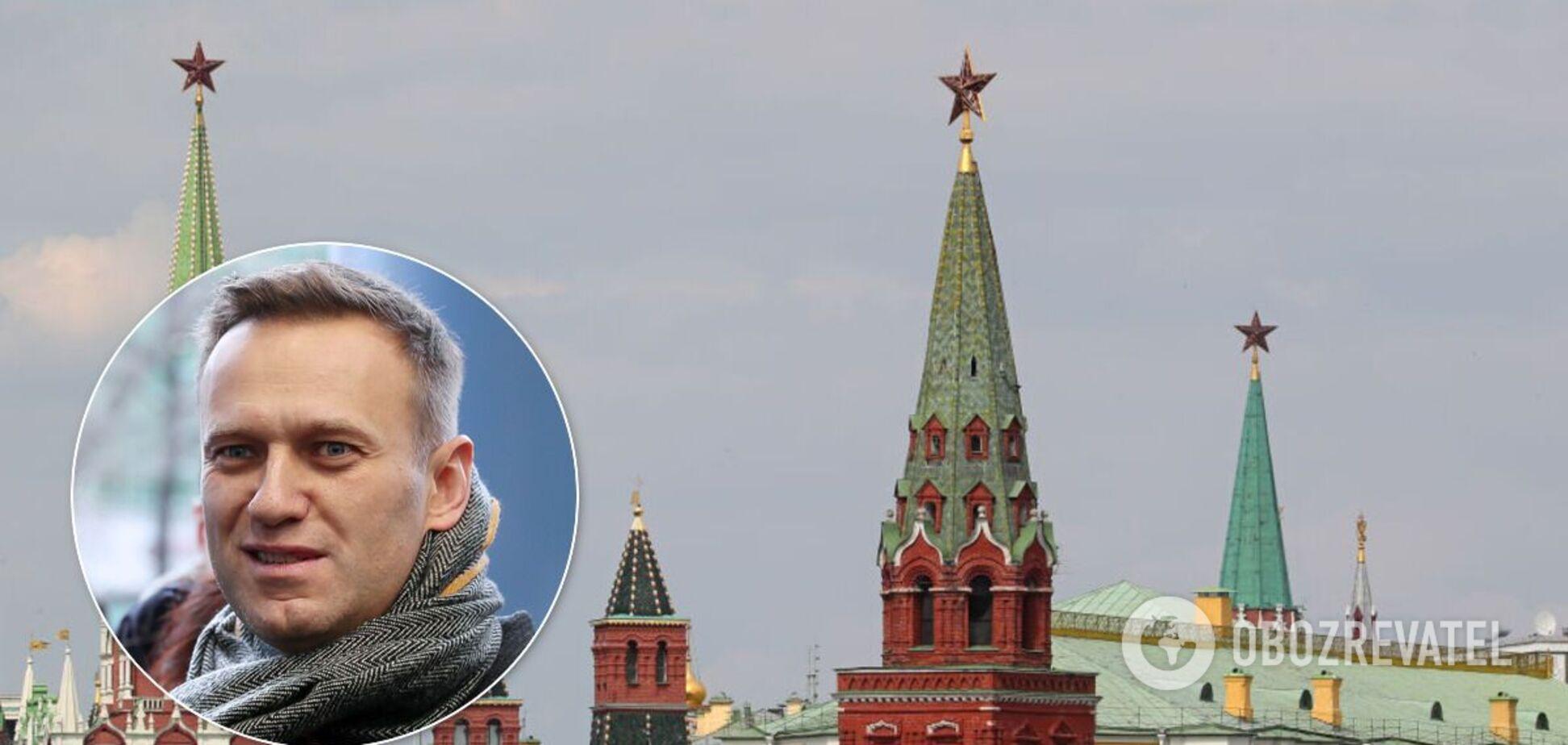 Синие трусы Навального разносят Кремль