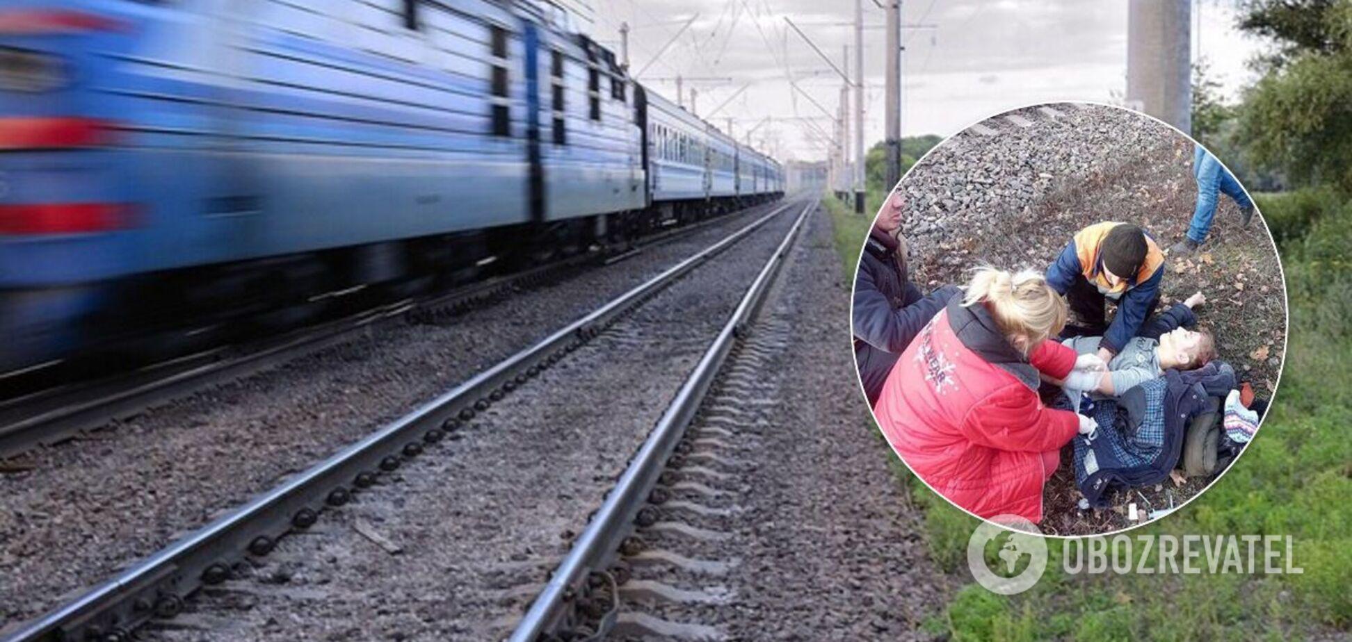 В Каменском поезд сбил ребенка