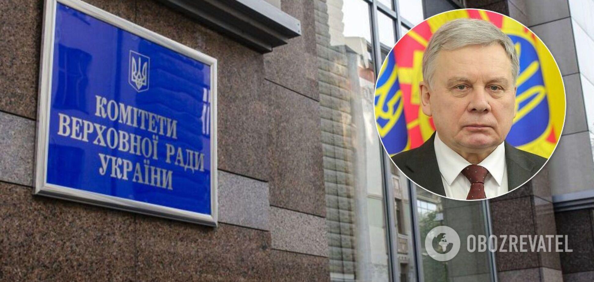 Комитет Рады выразил недоверие главе Минобороны Тарану