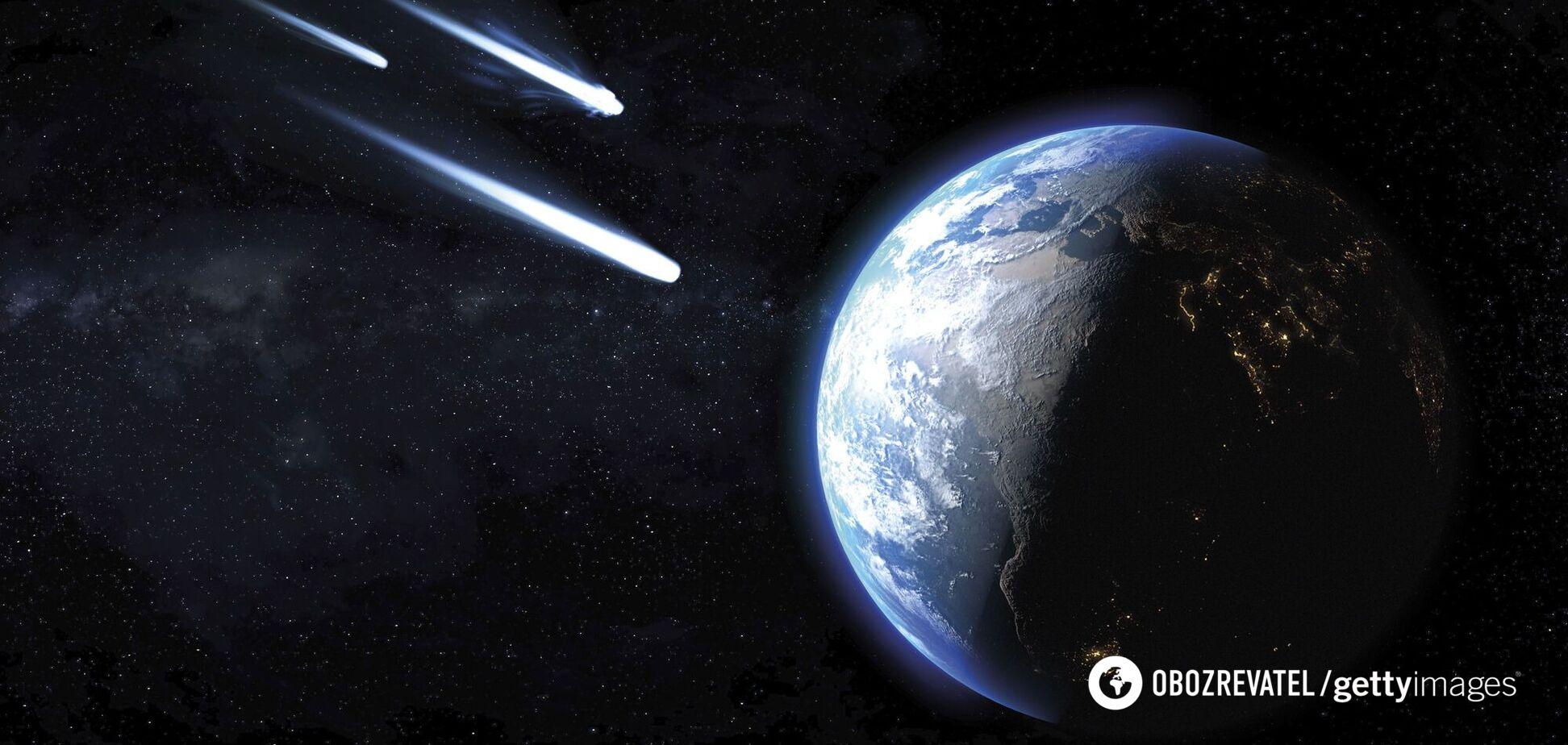 До Землі летять три небезпечних астероїди