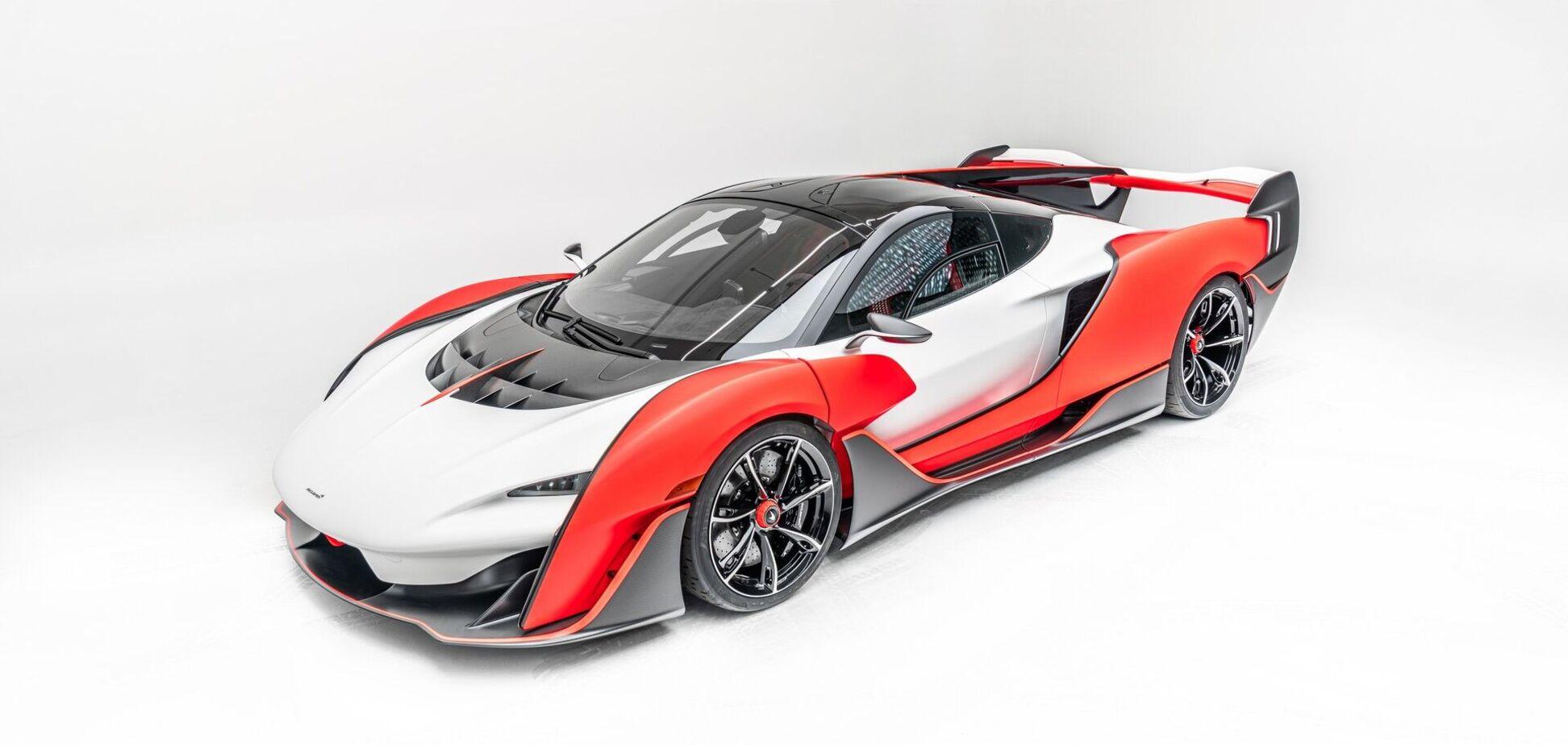 McLaren презентовал новый суперкар Sabre