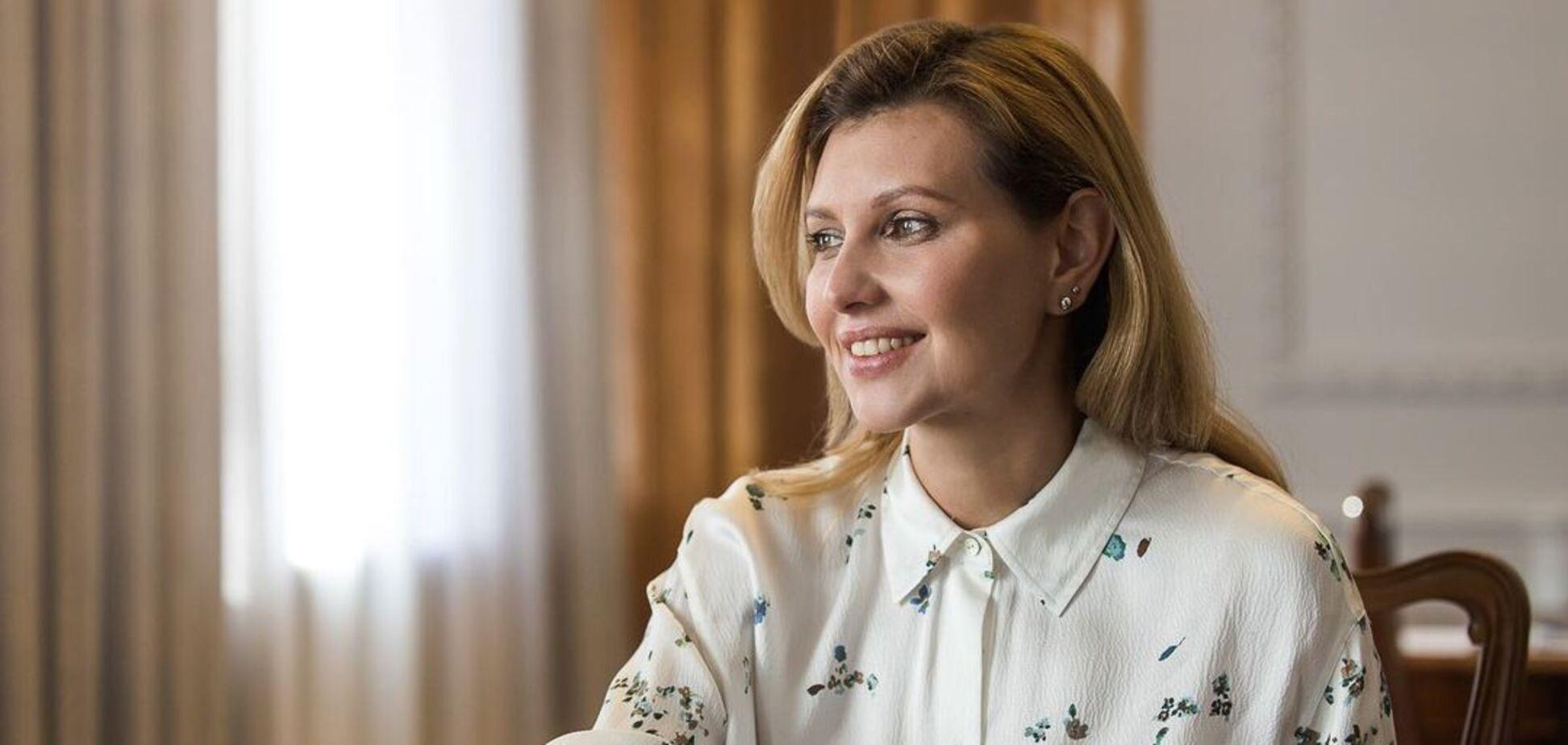 Первая леди УкраиныЕлена Зеленская