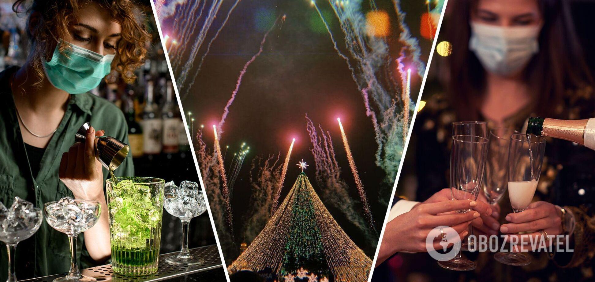 Ресторанам і кафе продовжили роботу в новорічну ніч