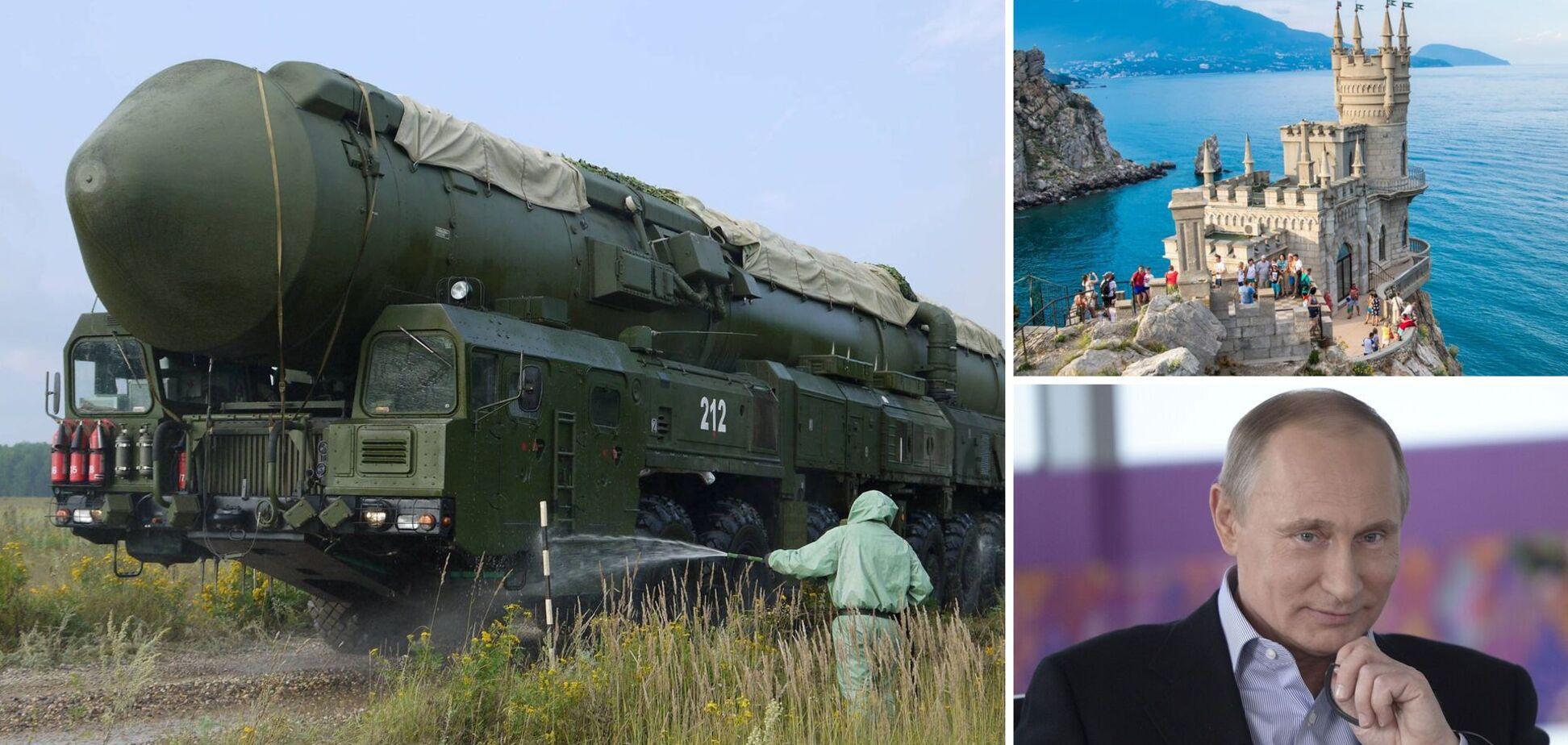 Росія перетворила Крим на військову базу, але чи є там уже ядерна зброя? Ексклюзив