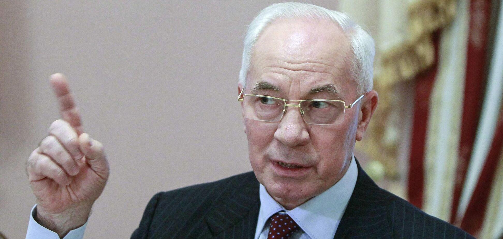 Cуд скасував санкції проти Азарова