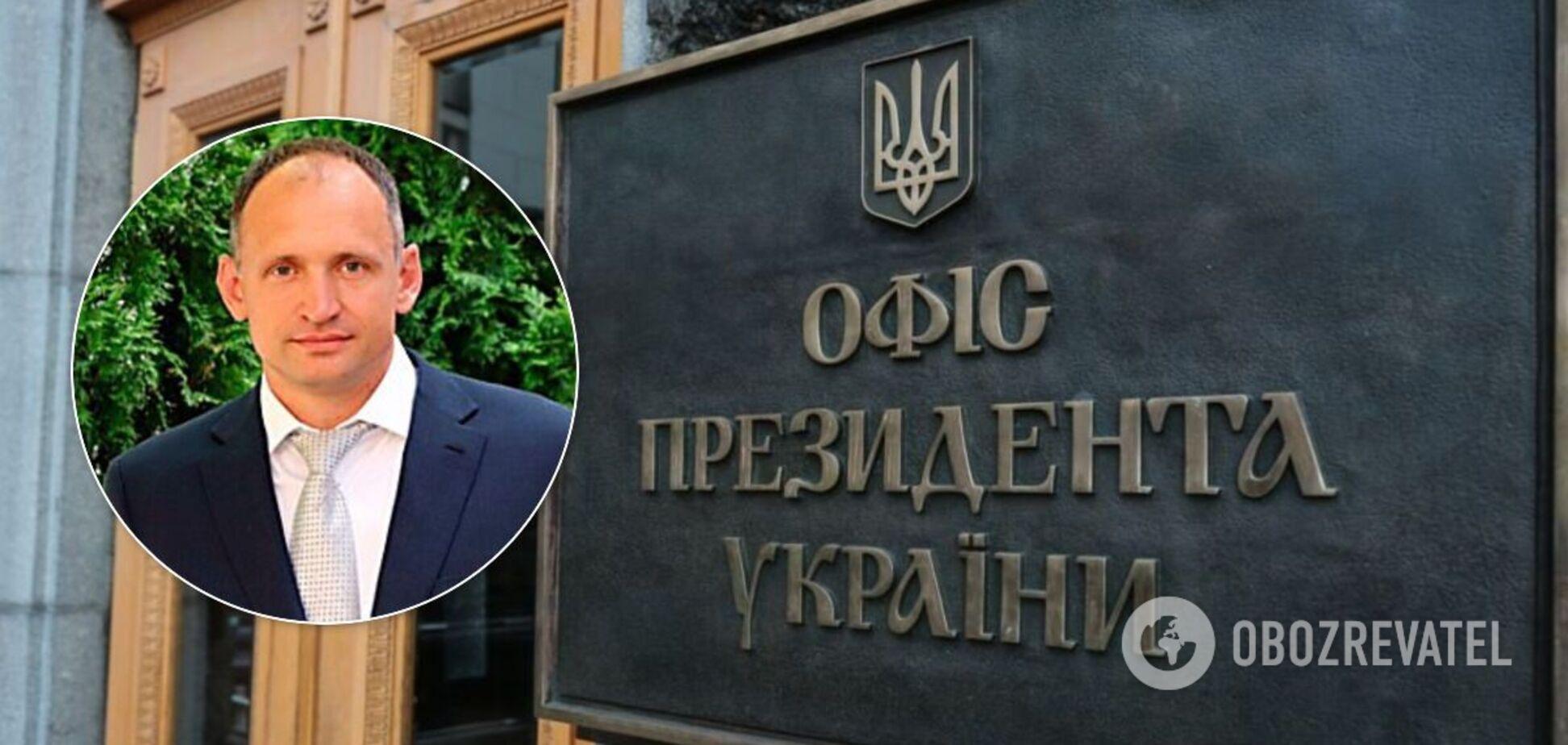 Замглавы Офиса президента Олег Татаров