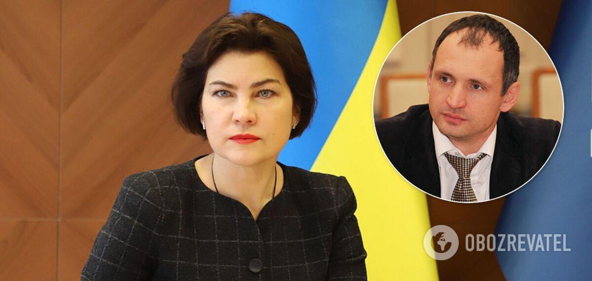 Венедіктова пояснила рішення по передачу справи Татарова в СБУ