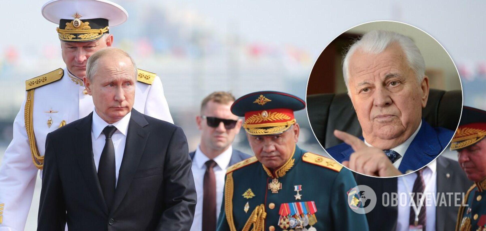 Казанский заявил, что позиция Кравчука в ТКГ бесит Кремль