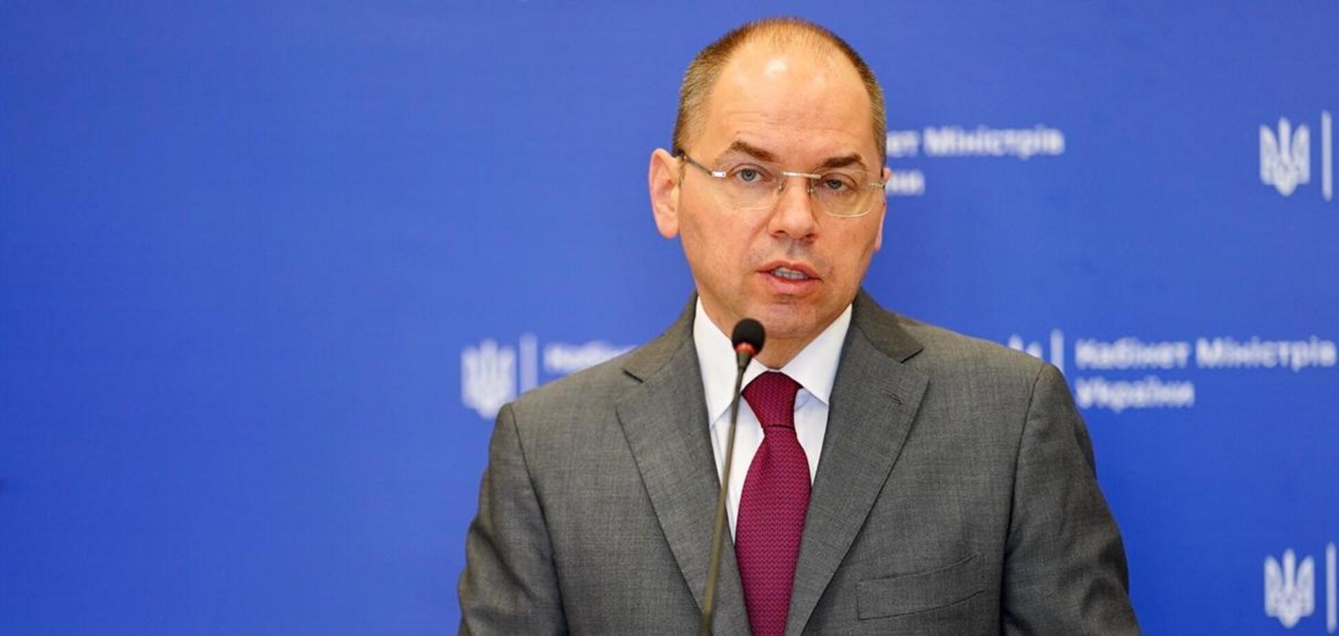 Степанов: про жодне скасування локдауну в Україні не йдеться