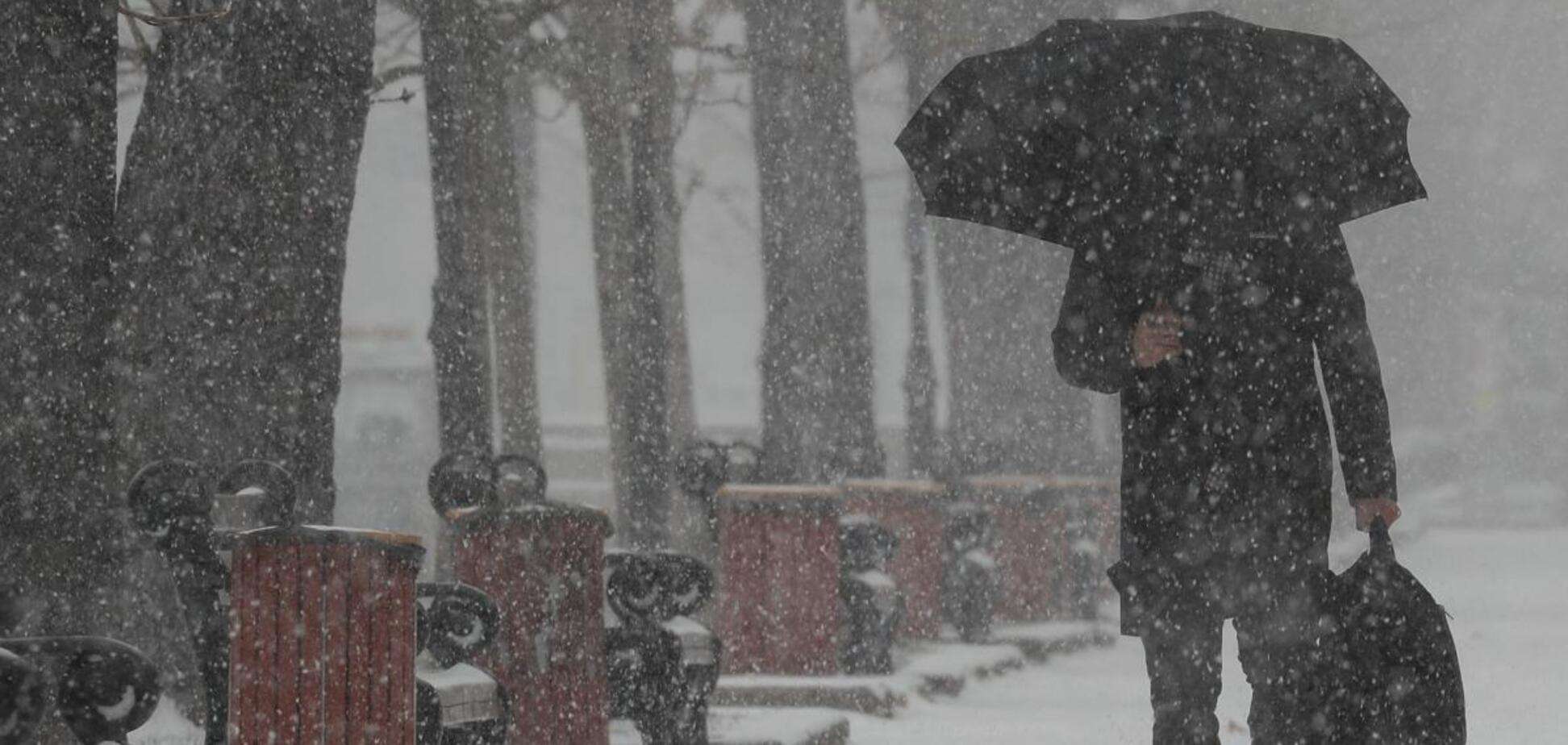 Українців попередили про дощ зі снігом і ожеледицю: прогноз погоди на 26 грудня