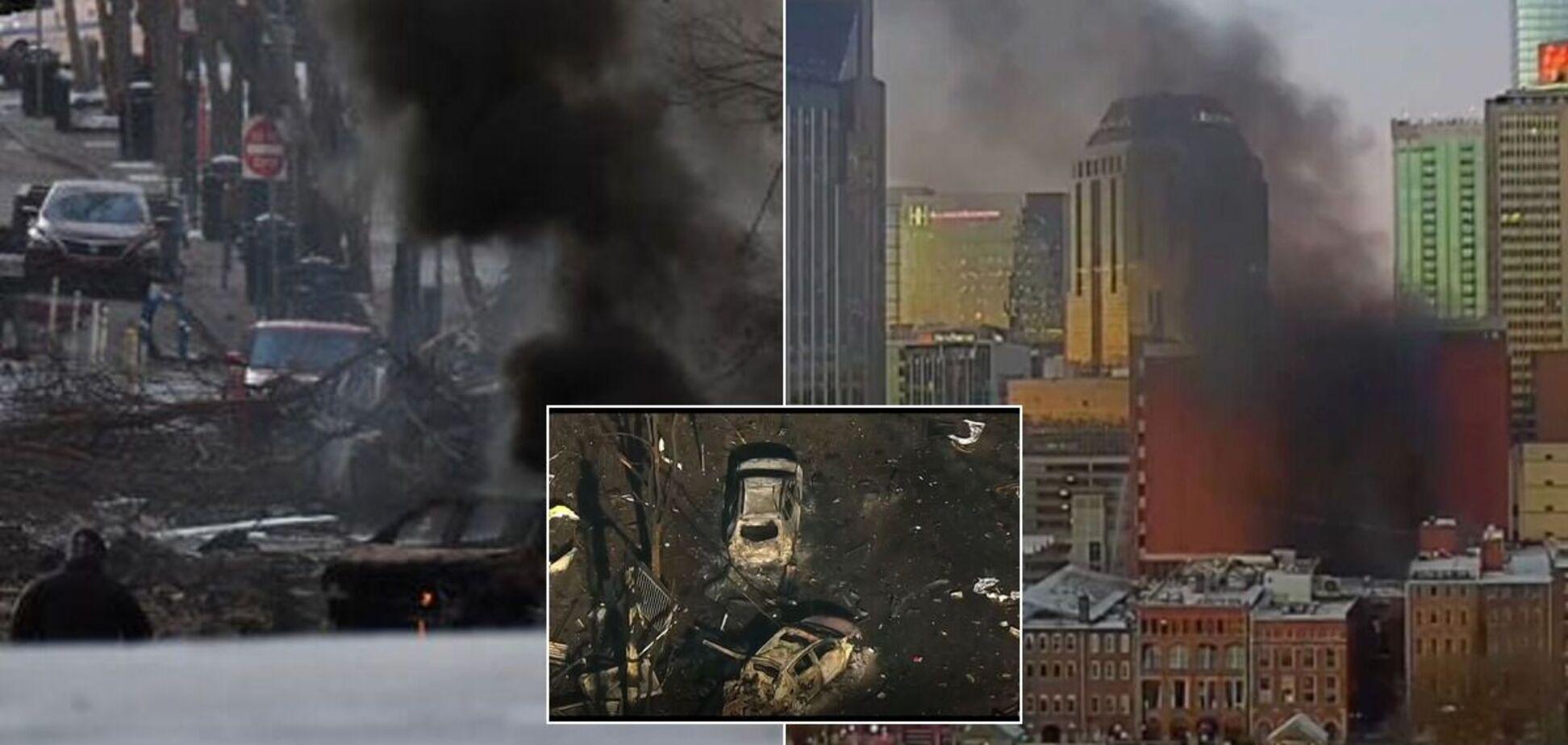В Нешвилле произошел взрыв