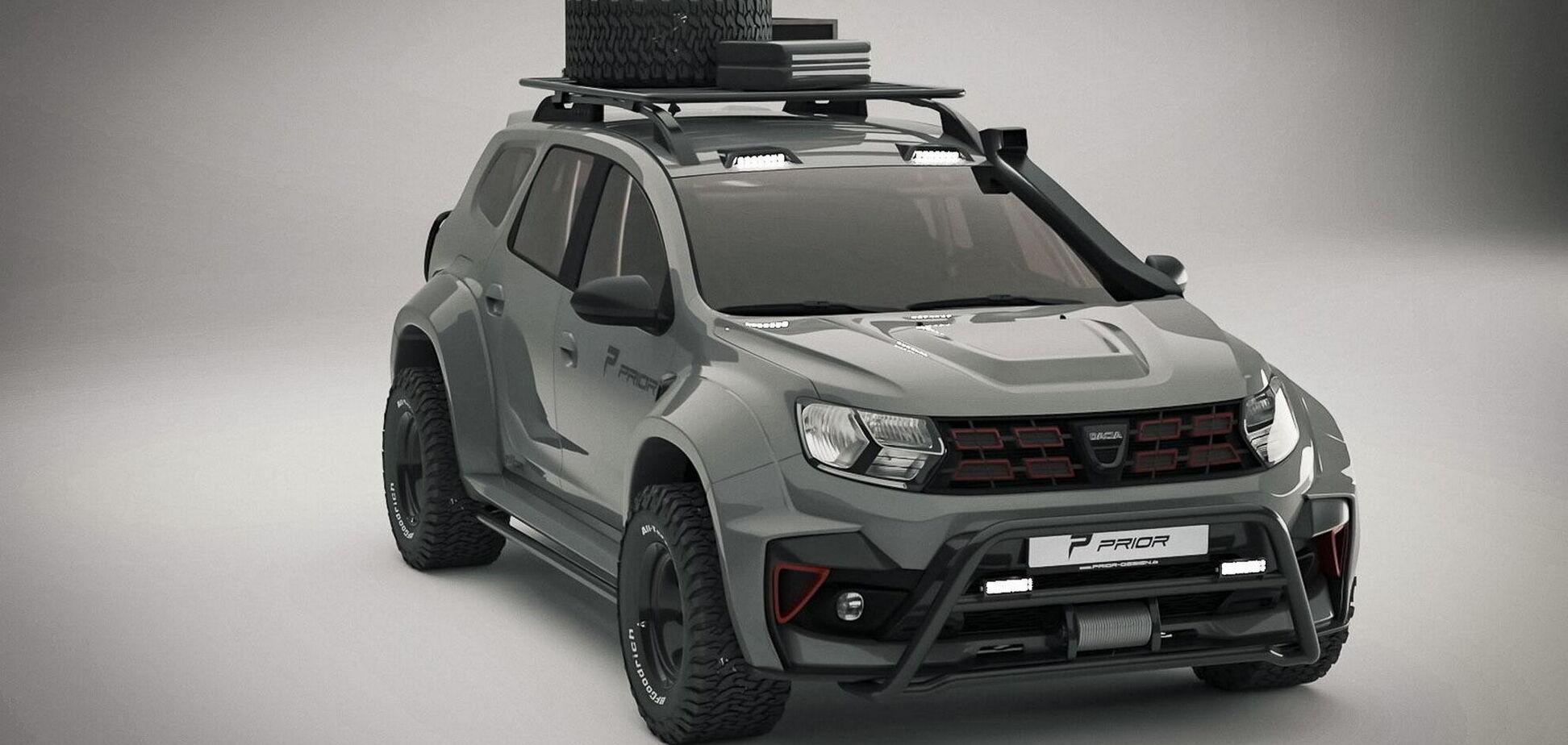 Немецкие тюнеры превратили Dacia Duster в экстремальный вездеход
