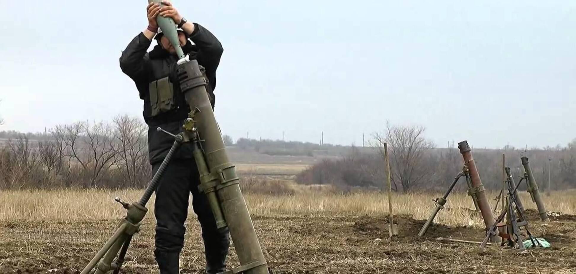 На Донбассе мирных жителей обстреляли из 120 мм миномета