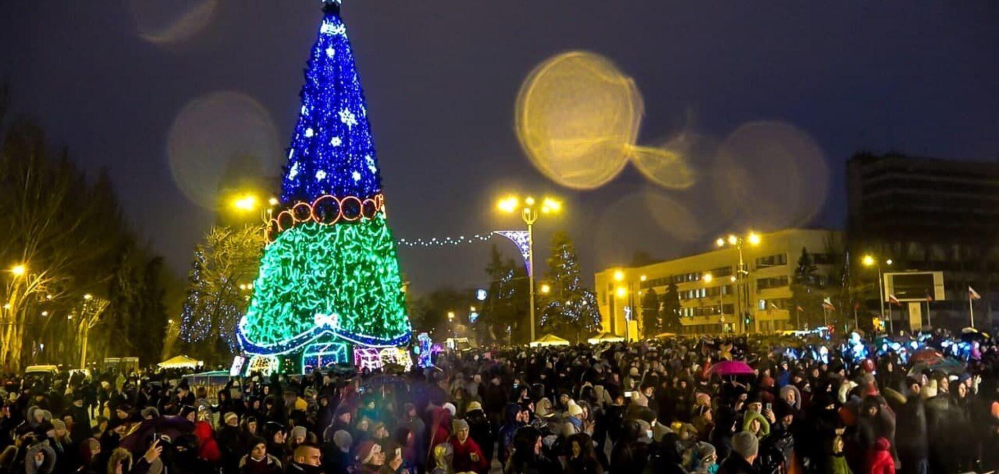 Новорічні свята у 'ДНР'