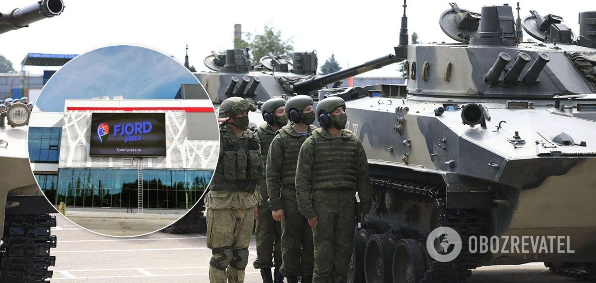 В Пскове военные обстреляли торговый центр