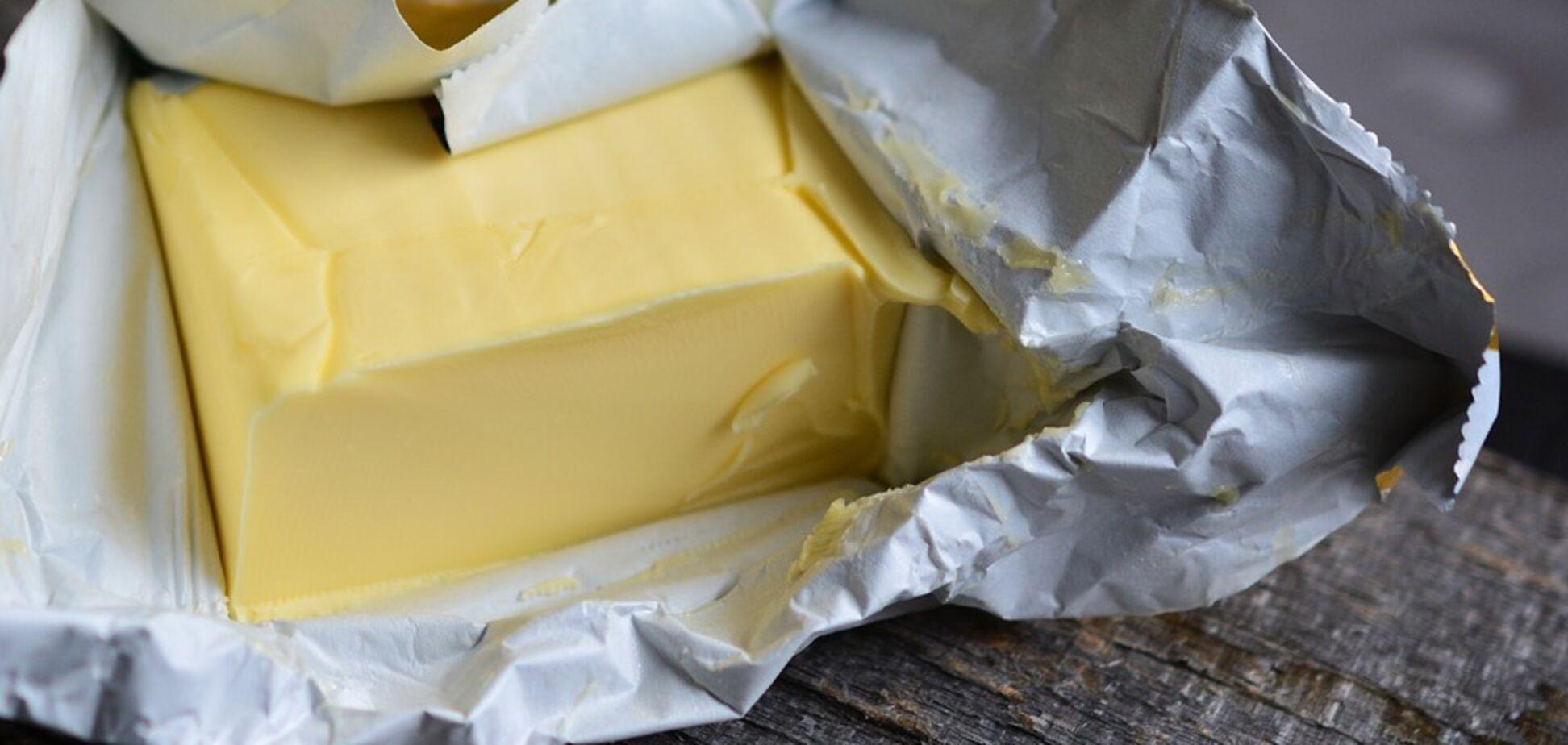 Фальсифікат масла не відрізняється від підробки